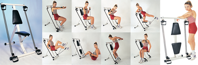 40-in-1 Perfect Gym®, Wordt thuis fitter, sterker, gezonder en slanker! 40-in-1 PerfectGym®