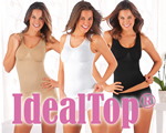 IdealTop®, similar on TV, IdealTop® - Direct twee maten slanker zonder streng dieet...
